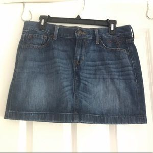 Old Navy Dragonfly Jean Skirt Size 10
